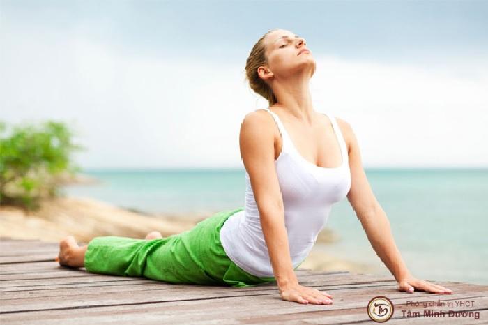 Bài tập yoga chữa trào ngược dạ dày