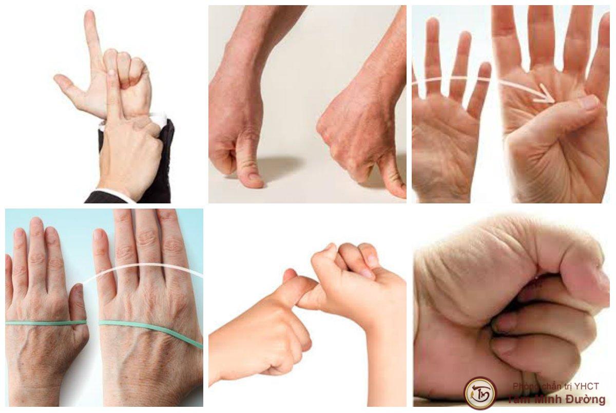 đau khớp ngón tay