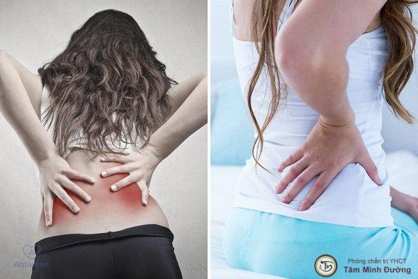 đau lưng sau sinh thường