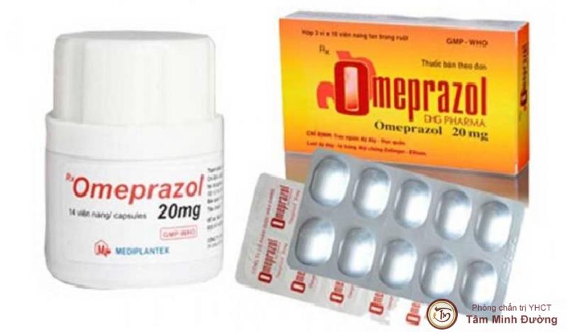 Thuốc đau dạ dày Omeprazol
