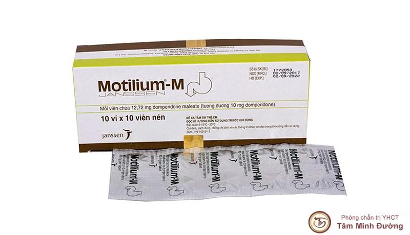 Liều lượng dùng motilium 10mg
