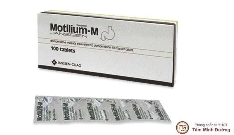 Thuốc chống trào ngược dạ dày Motilium